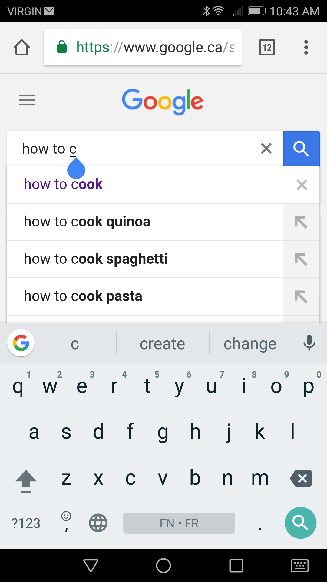 Alphabet Soup Technique