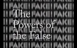 Fake review - power of false