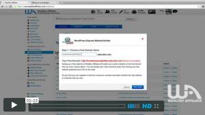 Create a WordPress site in seconds