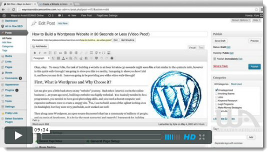 Create a WordPress site in seconds
