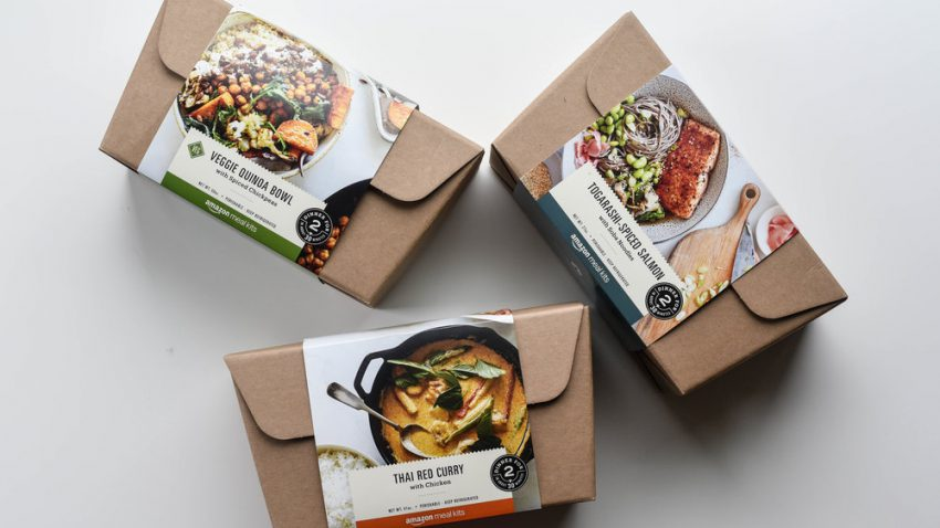 Amazon - amazon meal kit