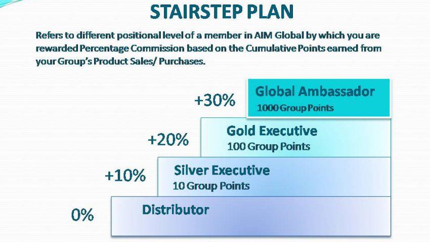 AIM Global - compensation plan
